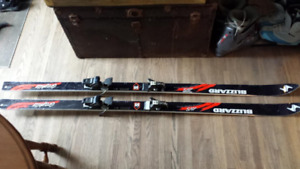 LIKE NEW SKI'S AND BOOTS;  Sale or trade