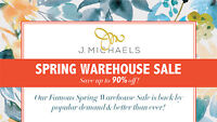 J. Michaels Spring Warehouse Sale | Save Up To 90% OFF!