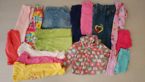 18 month girl cloth 17 pieces.