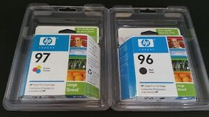 HP 96 and 97 Large capacity ink cartridges/Cartouches d'encre