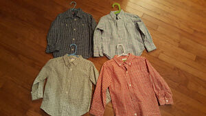 4 Shirts size 3-5,  for $10