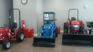 TRACTORS 25HP AND UP
