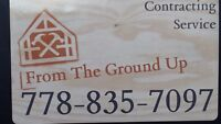 From The Ground Up Contracting