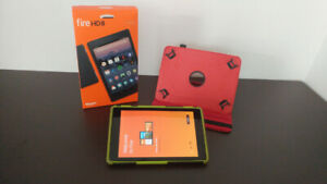 Amazon Fire HD8 Tablet like new