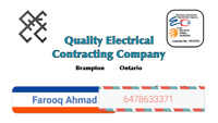 Fully insured and licensed  electrician
