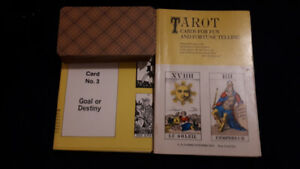 3 sets of Tarot and Oracle Cards