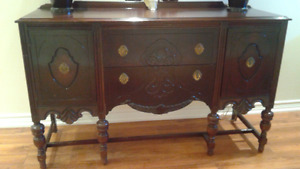 Antique hutch early 1900
