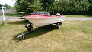 Chrysler Boat - with motor and trailer
