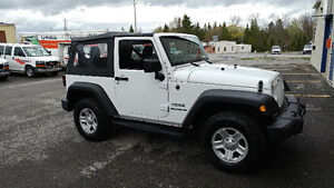 NEW - 2013 Jeep Wrangler -  23,000km / Full Warranty! New Price!