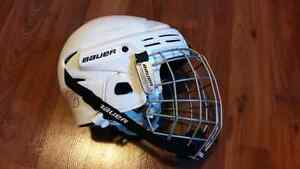 Bauer Hockey Helmet with Bauer TruVision Cage