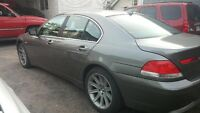 2002 BMW 7-Series cuir Berline