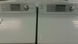 LG Front Loader Washer with Matching Electric Dryer