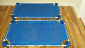 Toddler naptime cots- with fitted sheet