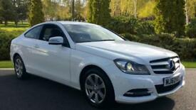 2013 Mercedes-Benz C-Class Sports Coupe C220 CDI BlueEFFICIENCY Execut Automatic