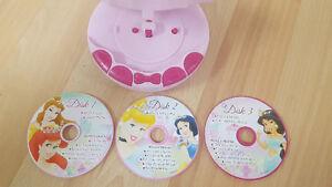 Royal Melodies Disney Princess CD Player Gatineau Ottawa / Gatineau Area image 2