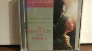 Phantom of the Opera Soundtrack CD