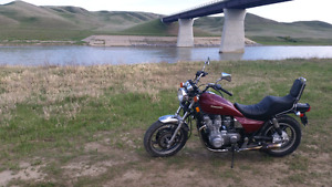 Kawasaki ZN1100 LTD, 7k orig. miles, $12/month plate, good shape