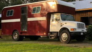 Horse trailer/ would be great camper conversion