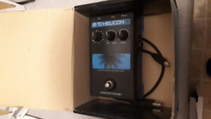 Tc Helicon pitch correction pedal