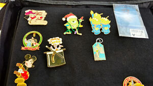 Large disney trading pins collection with 2 cases Cambridge Kitchener Area image 2