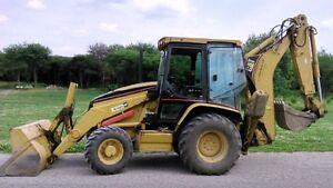 2005 CAT 420 D Backhoe