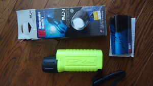 UK Underwater Kinetics Waterproof Flashlight
