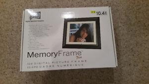 "Digital Photo Frame 10"" Brand New Never Used"