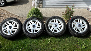 225/55R16 tire and rims for sale