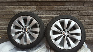 Bridgestone Winter Tires&Rims 235/45/17 West Island Greater Montréal image 3