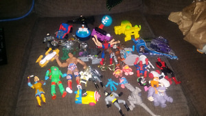 Hundreds if action figures $1.00 to $5.00 each