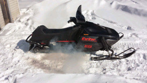 Great running sled, ready to go! Yamaha Exciter