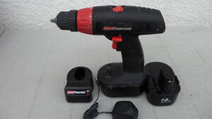 Coleman 18 Volt Drill with spare battery $30.