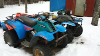 2 Polaris Trail Boss 250