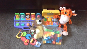 Baby to toddler toy mix lot-Take all for $15