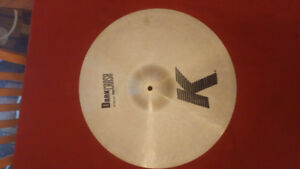 "Zildjian K 18 ""  Dark Thin Crash Cymbal"