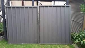 Colourbond Double Gates - Woodland Grey North Lambton Newcastle Area Preview