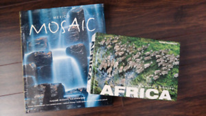 Mexico and Africa Coffee Table Books
