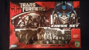 Lord of the Rings Chess set and Transformers Chess set Edmonton Edmonton Area image 1