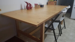 Ikea Premium Quality Extendable Dining Table