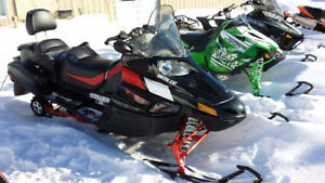Artic Cat TZ1 non turbo two up sled Mint