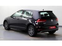 2017 Volkswagen Golf 1.0 TSI SE Nav 110PS DSG Petrol black Automatic