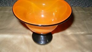 VINTAGE GORGEOUS HAND CRAFTED & SIGNED GLASS COMPOTE Kitchener / Waterloo Kitchener Area image 3