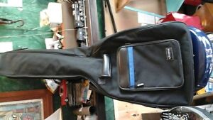 Acoustic guitar gig bag,and guitar stand