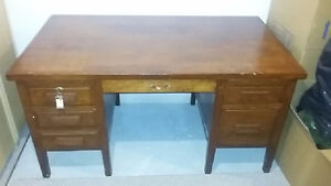 Solid Oak Antique desk