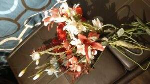 silk flowers and craft items