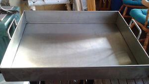 Custom made stainless steel roasting pan Strathcona County Edmonton Area image 2