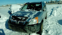 2002 Honda Crv EX for parts only Calgary Alberta Preview
