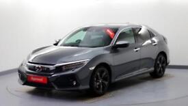 2018 Honda Civic 1.5 VTEC TURBO Prestige Petrol grey Automatic