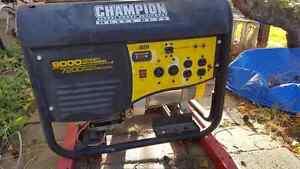 9000/7200 watt Champion Generator