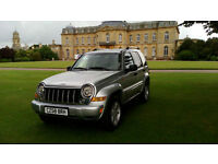 2006 LHD Jeep Cherokee 2.8 CRD automatic 4x4 diesel A/C low mile LEFT HAND DRIVE
